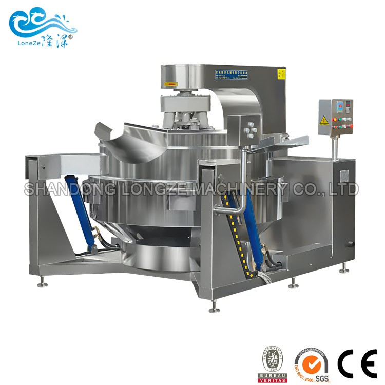 Industrial Automatic Drug Stir- fry Cooking Machine