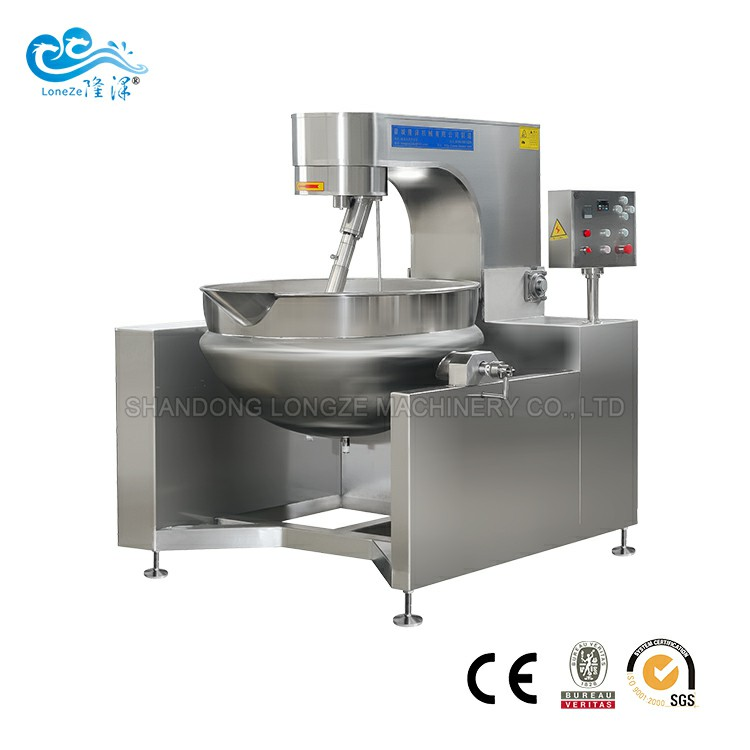 Industrial Automatic Stuffing Stir Fry Cooking Machine