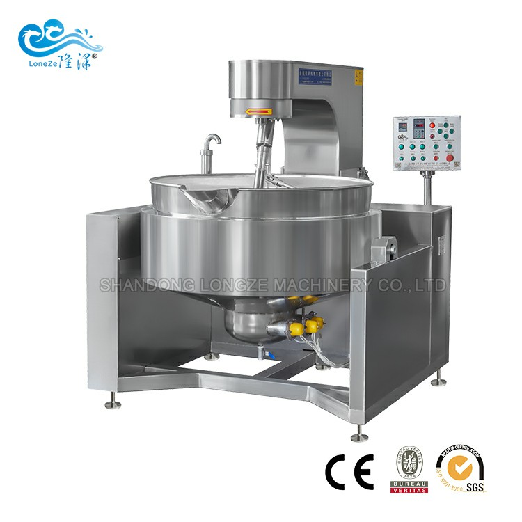 Industrial Automatic Filling Stir Fry Cooking Machine
