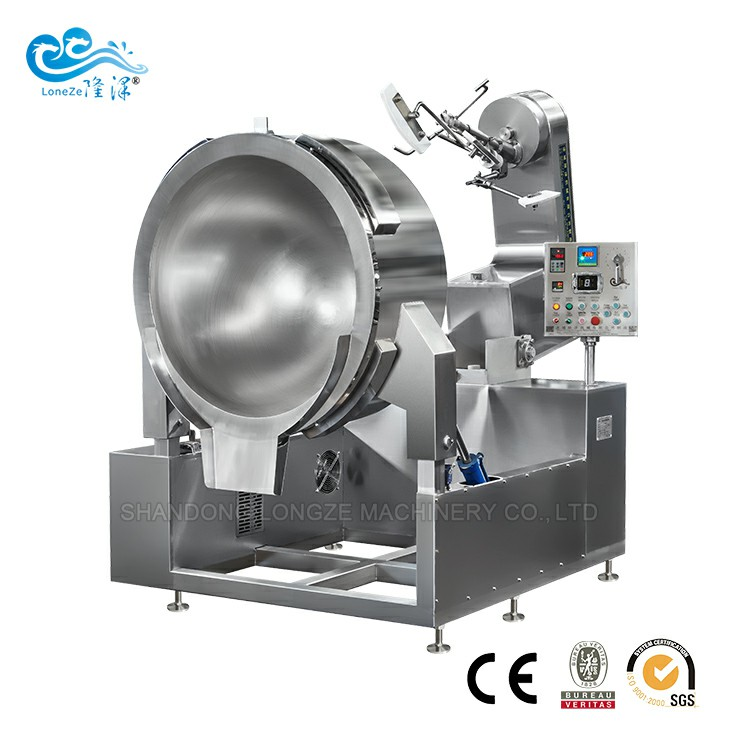 Industrial Automatic Sugar Color Cooking Machine