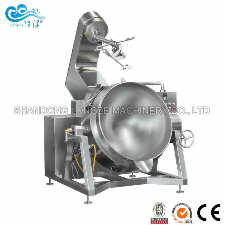 Industrial Automatic Stir Fry Cooking Machine
